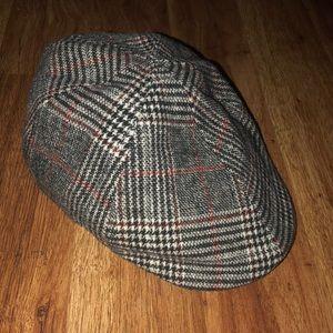 Zara Plaid Newsboy Cap